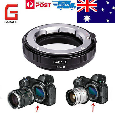 GABALE adapter for LEICA LM ZEISS M/VM mount lens to Nikon Z6/7 camera AU Stock