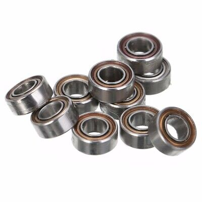 10pcs MR63ZZ 3x6x2.5mm Open Miniature Bearings ball Mini Hand Bearing Spinner
