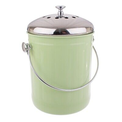 NEW Appetito Compost Bin 5L Green