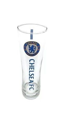 Chelsea FC Official Football Gift Tall Beer Pint Glass  Fathers Day
