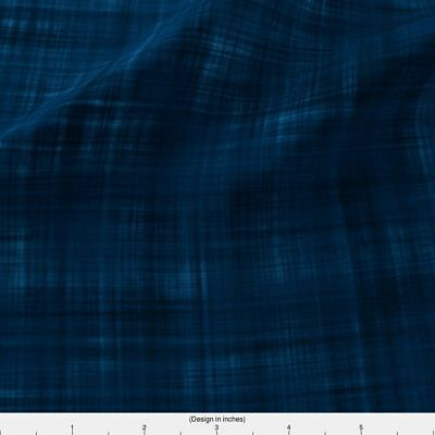 Sashiko Japanese Traditional Embroidery Fabric Printed by Spoonflower BTY