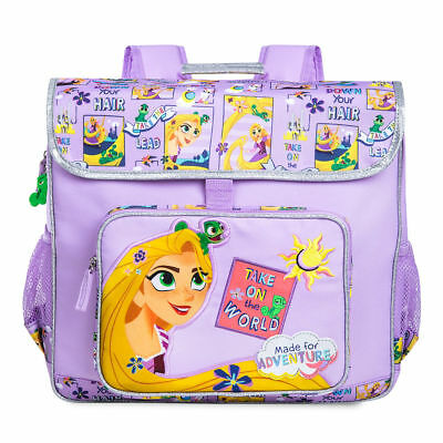 NWT Disney Store Rapunzel Backpack School Girls Princess Tangled The series