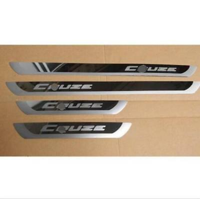 4pcs Door sill scuff plate Guard Sills Fit Chevrolet Cruze 2010-2015