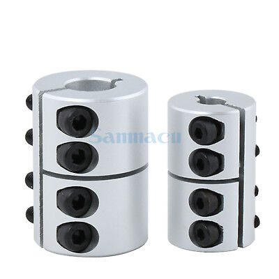 31.5mm O.D 45mm Length Aluminium Alloy Coupling Coupler For Engraving Machine