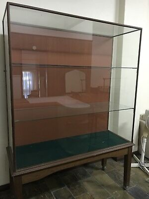 Antique Apothecary Glass Display Cabinet