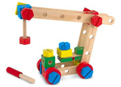Melissa & Doug 48 Wooden Piece Construction Set in a Box