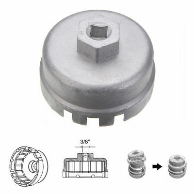 Oil Filter Wrench Cap Housing Tool Remover 14 Flutes 64.5mm For Toyota Lexus