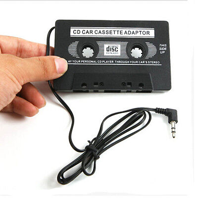 Audio AUX Car 3.5mm Cassette Tape Adapter Converter for iPhone iPod CD MP3 MP4