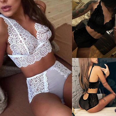 Women Sexy-Lingerie Babydoll Lace Nightwear Sleepwear Underwear G-string Suit
