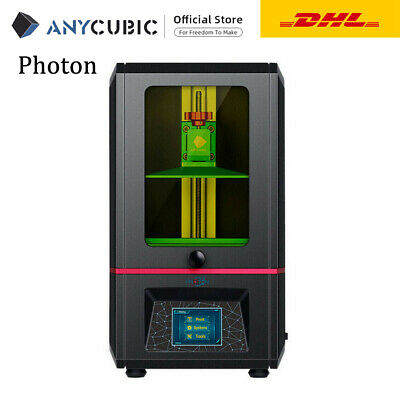 *EU STOCK* ANYCUBIC Photon 3D Printer 405nm UV Resin Light-Cure Stampante 3D TFT