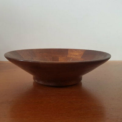 Vintage Retro Decorative Mid Century Wooden Fruit Bowl