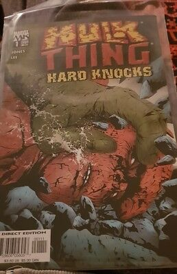 Hulk Thing Hard Knocks #1 (NM)`04 Jones/ Lee