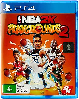 NBA 2K Playgrounds 2 Street Basketball Ball Sports Game Sony Playstation 4 PS4