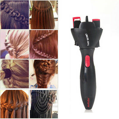 Electric Hair Braider Plait Twist Styling DIY Braiding Machine Quick Braid Tool