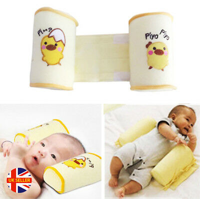 Kids Bumper Baby Newborn Nursing Pillow Anti-Roll Over Memory Foam Cot Crib