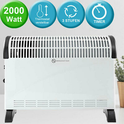 Convector stand heating 3 stages turbo function timer heat heater mobile new