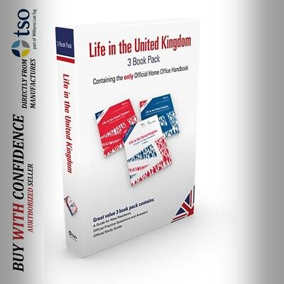 Latest Edition Official Books for Life in the UK Test Preparation 2019*lf set