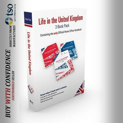 Latest edition official books for life in the UK test preparation 2020*lf set