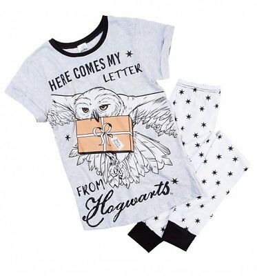 Official Women's Harry Potter Hedwig Here Comes My Letter From Hogwarts Pyjamas