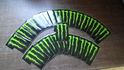 Green monster stickers
