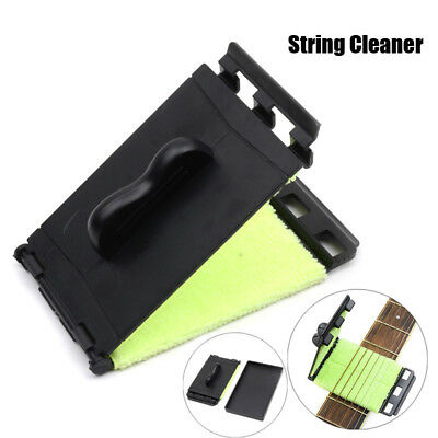 Guitar Bass Electric Strings Scrubber Fingerboard Rub Cleaning Tool Care Cleaner