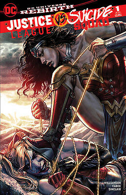 JUSTICE LEAGUE VS SUICIDE SQUAD 1 FORBIDDEN PLANET VARIANT Bermejo DC Comics HOT
