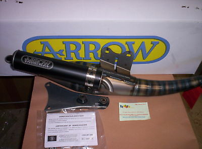 Marmitta Arrow Extreme Dark Aprilia Rally Sr Www Mbk Ovetto