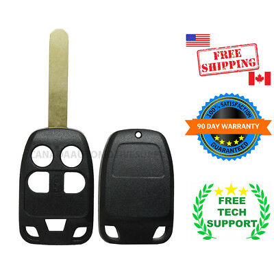 1 New Replacement Keyless Remote Key Fob for Honda Odyssey 35118-TK8-A20 SHELL