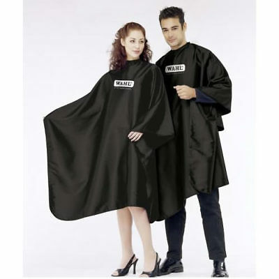 Wahl Black Barbers/salon Cutting Cape/gown *sealed* *new*