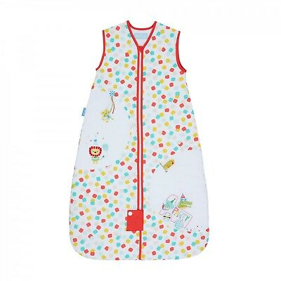 Grobag Baby Sleeping Bag 6 - 18 months 2.5 tog Party Animals