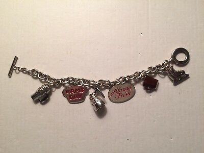 Tim Hortons Bilingual Camp Day Charm Bracelet Stainless Steel