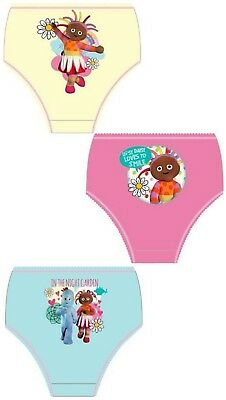 Girls Kids Upsy Daisy ITNG Pants Underwear Briefs Knickers Set 2-8 Years 3 Pack