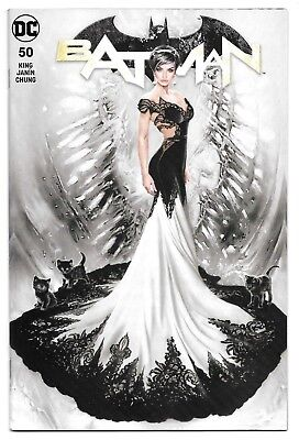 Batman #50 - DC 2018 - NATALI SANDERS EXCLUSIVE VARIANT Cover A Ltd to 2800 - NM