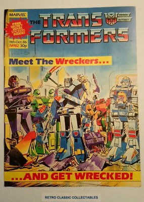 Marvel UK - The Transformers - Comic - No.82 - 11th Oct. 1986