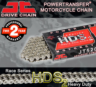 JT Nickel Standard Drive Chain 520 P - 106 L for Kawasaki Motorcycles