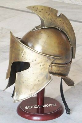 300 Spartan Helmet Collectible Medieval King Leonidas Armor Halloween Gift