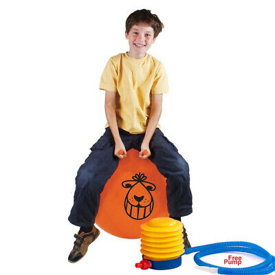 Large Exercise Retro 60Cm Jump Space Hopper Play Ball Toy Kids Adult Party Game
