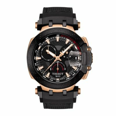 Tissot T-Race Moto GP Chrono Rose Gold Limited Edition Mens Watch T1154173706100