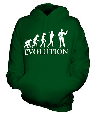 Banjo Player Evolution Of Man Unisex Hoodie Mens Womens Ladies Gift String