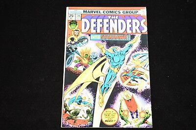 Vf The Defenders #28 - Featuring The First Full Appearance Of Starhawk!