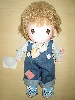 Vintage 1985 Precious Moments Boy Doll *flippy* #4568 By Applause.