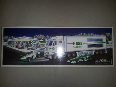 Hess* 2003* Toy* Truck* And* Racers* New In Box*