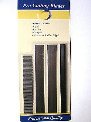 4 Piece Stainless Steel Pro-Cutting Blade- Cutting Metal Clay-Polymer Clay-Fimo