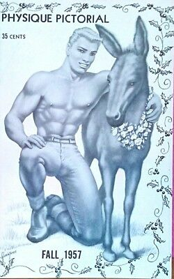 Physique Pictorial Fall 1957 gay interest magazine