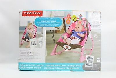 Fisher-Price Infant-to-Toddler Rocker, Pink X7032 - New Other