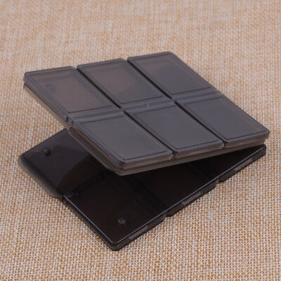 12 Slot Memory Card Storage Case Holder Protector SIM/Micro SD/TF Foldable New