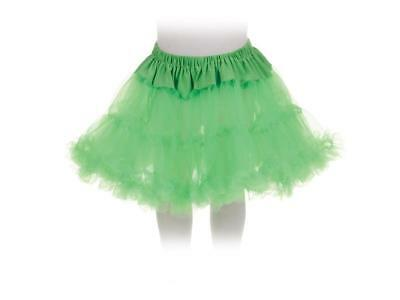 Tutu Petticoat Costume Skirt Child: Green One Size Fits Most