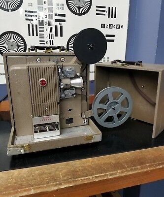 Vintage Kodak Analyst 16mm Silent Film Movie Projector with 50mm Projection lens