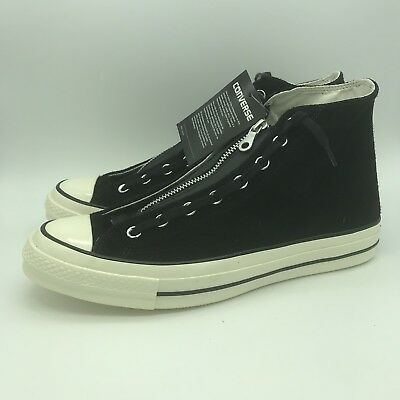 e1b828d20100 Converse Chuck Taylor All Star CTAS 70 ZIP Hi Black 159756C Sz Men 10 Women  12