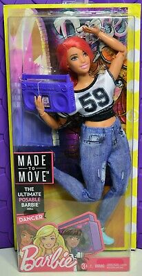 Barbie Made To Move Dancer Doll Mtm